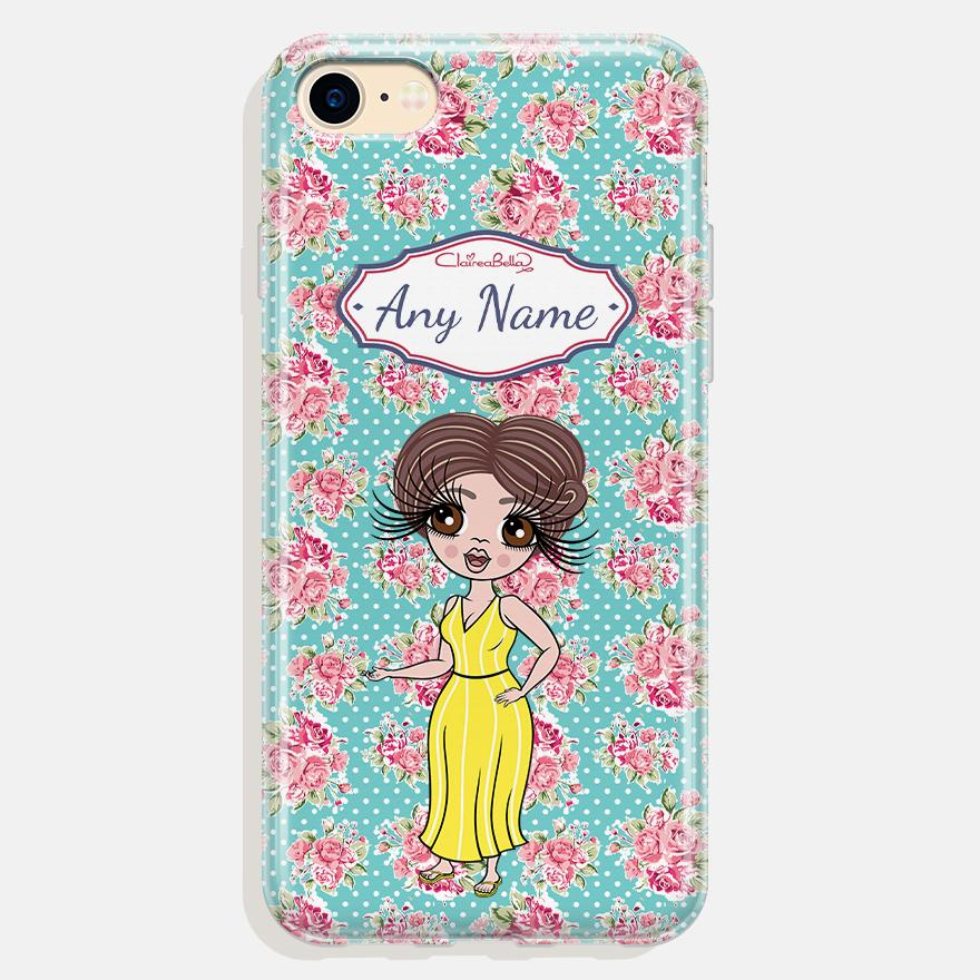 ClaireaBella Personalized Rose Phone Case - Image 0