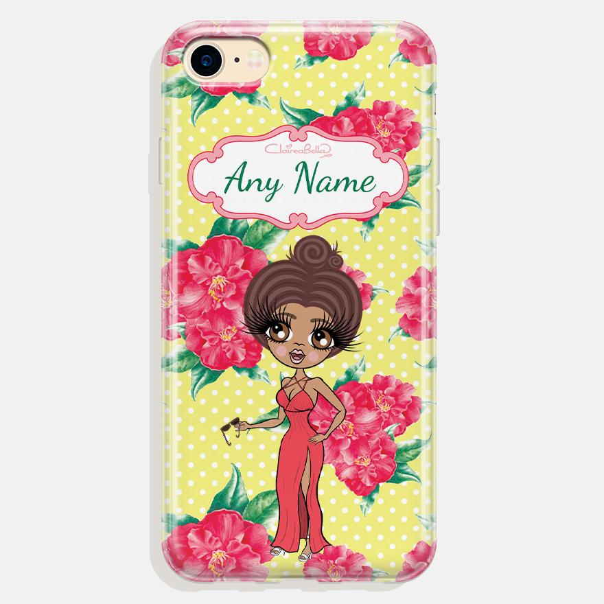 ClaireaBella Personalized Lemon Floral Phone Case - Image 7