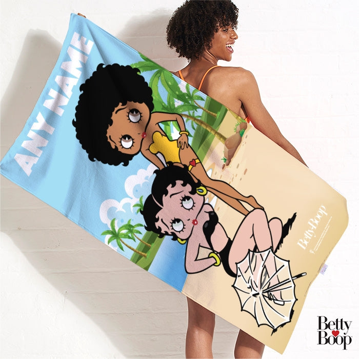 Betty Boop Beach Fun Betty Beach Towel - Image 3