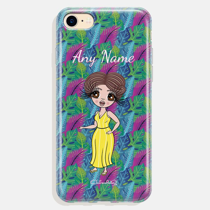 ClaireaBella Personalized Neon Leaf Phone Case - Image 0