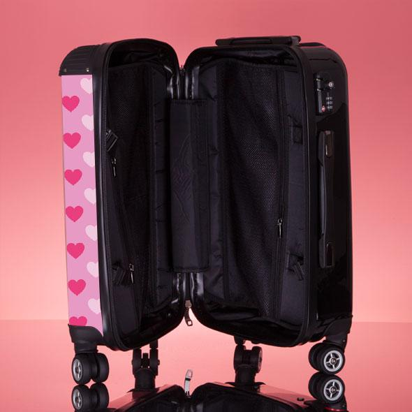 ClaireaBella Heart Suitcase - Image 7
