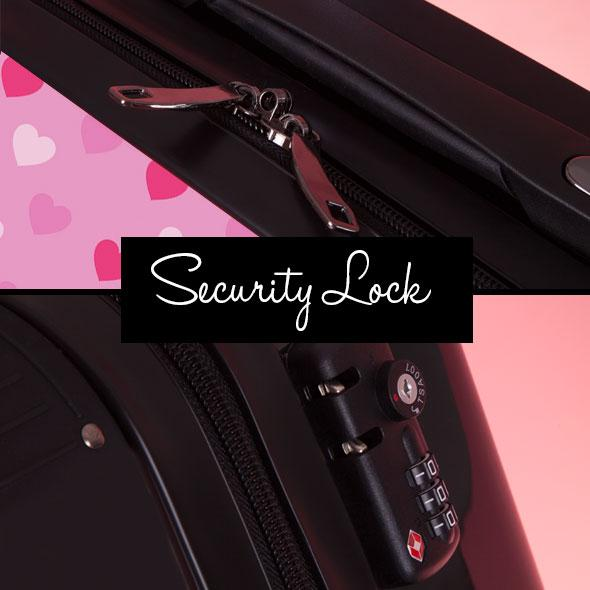 ClaireaBella Girls Heart Suitcase - Image 7