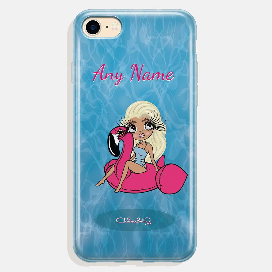 ClaireaBella Personalized Pool Side Phone Case - Image 0