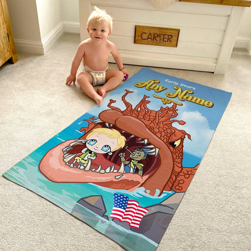 Early Years Big Fish Beach Towel