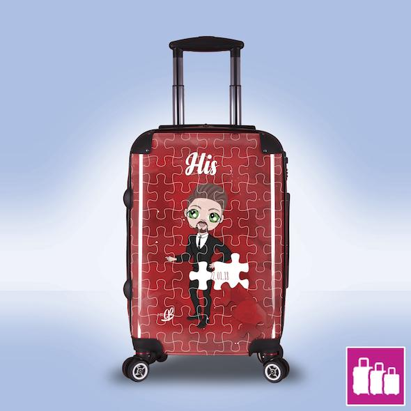 MrCB Piece of Me Suitcase - Image 0