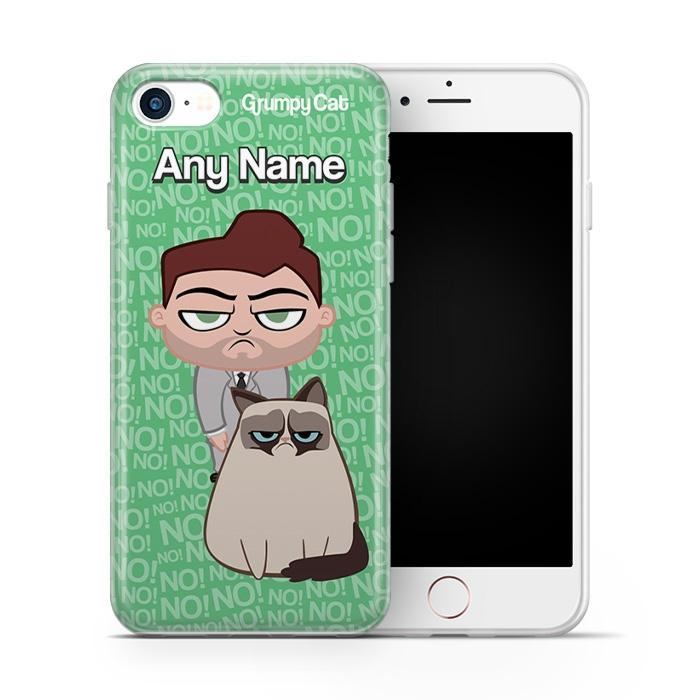 Grumpy Cat No! Phone Case - Image 1