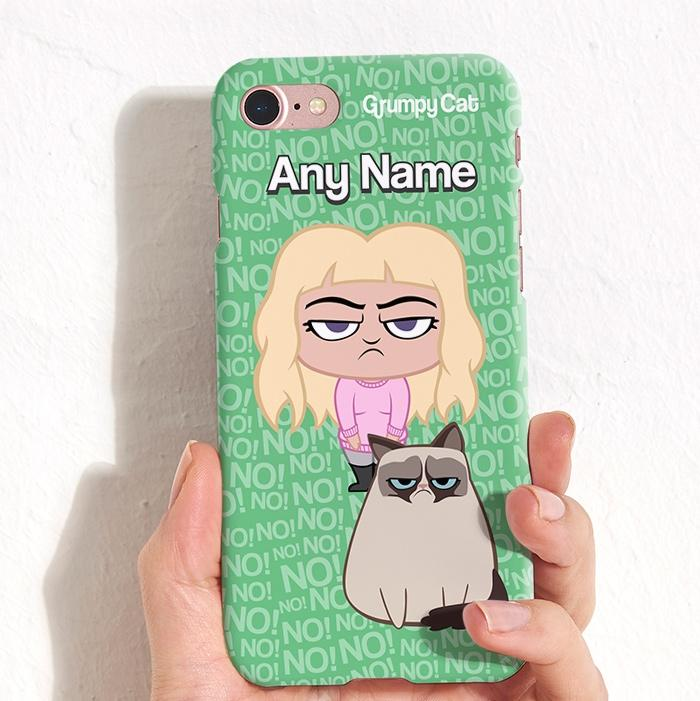 Grumpy Cat No! Phone Case - Image 0