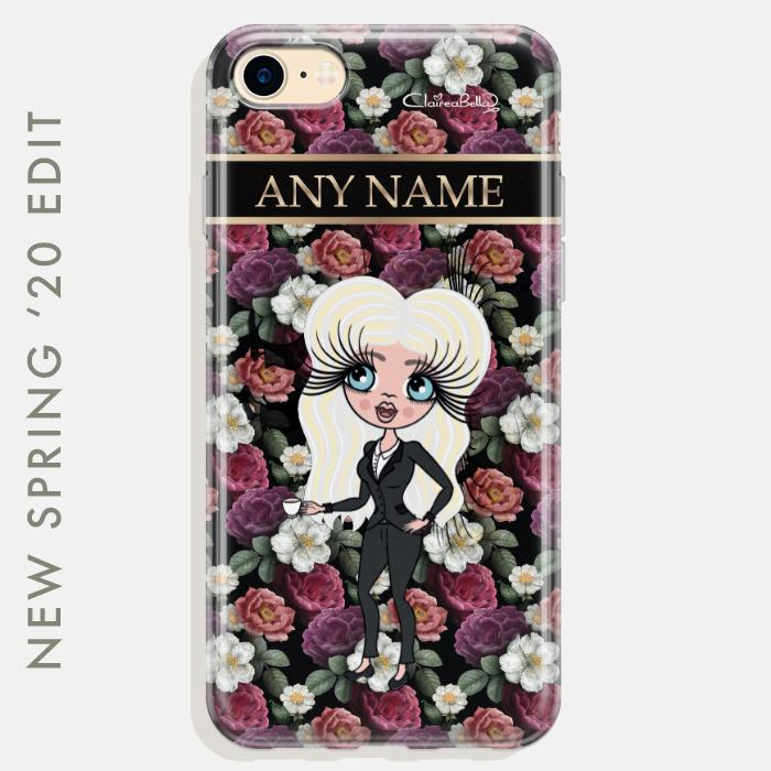 ClaireaBella Floral Phone Case - Image 0