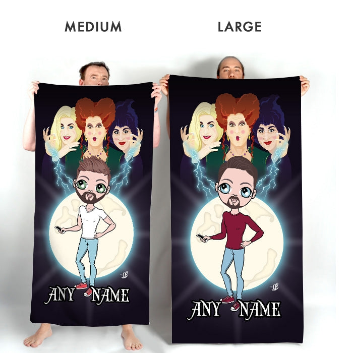 MrCB Mischievous Witches Beach Towel - Image 3
