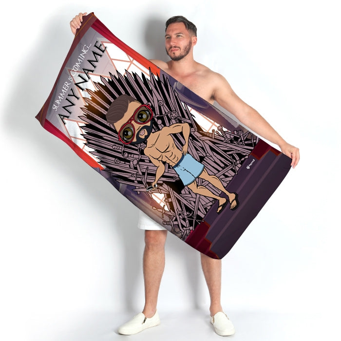 MrCB Throne Beach Towel - Image 3