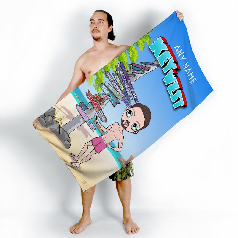MrCB Key West Beach Towel - Image 3