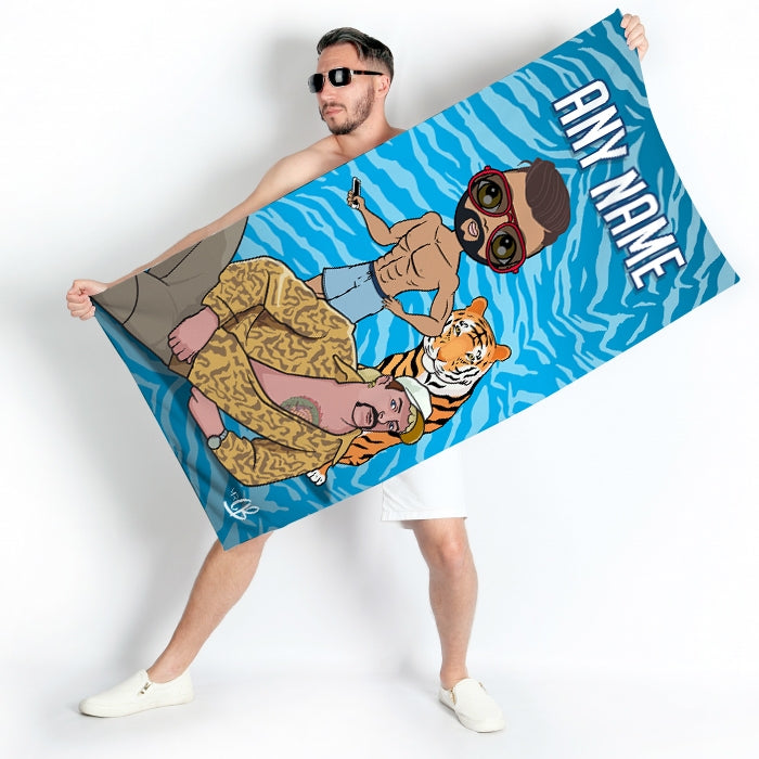MrCB Exotic Beach Towel - Image 4