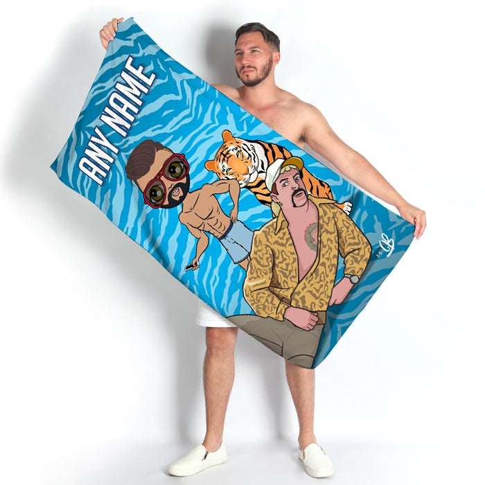 MrCB Exotic Beach Towel - Image 1