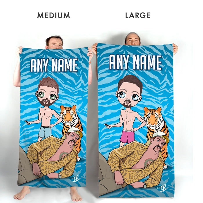 MrCB Exotic Beach Towel - Image 3