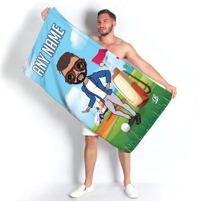 MrCB Golf Beach Towel - Image 2