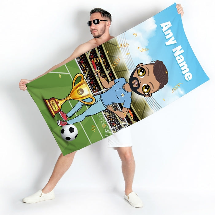 MrCB Football Champ Beach Towel - Image 4