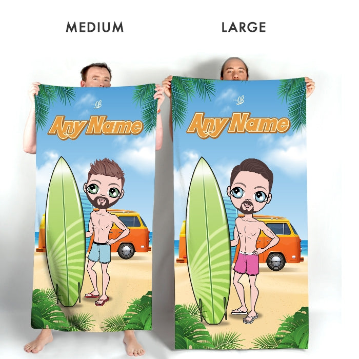 MrCB Surfer Dude Beach Towel - Image 4