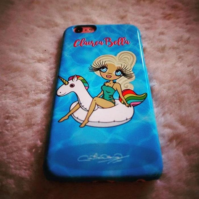 ClaireaBella Personalized Pool Side Phone Case - Image 8