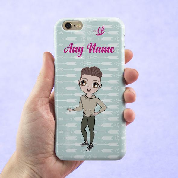 MrCB Personalized Cupid's Arrow Phone Case - Image 1