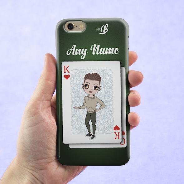 MrCB Personalized King Of Hearts Phone Case - Image 1