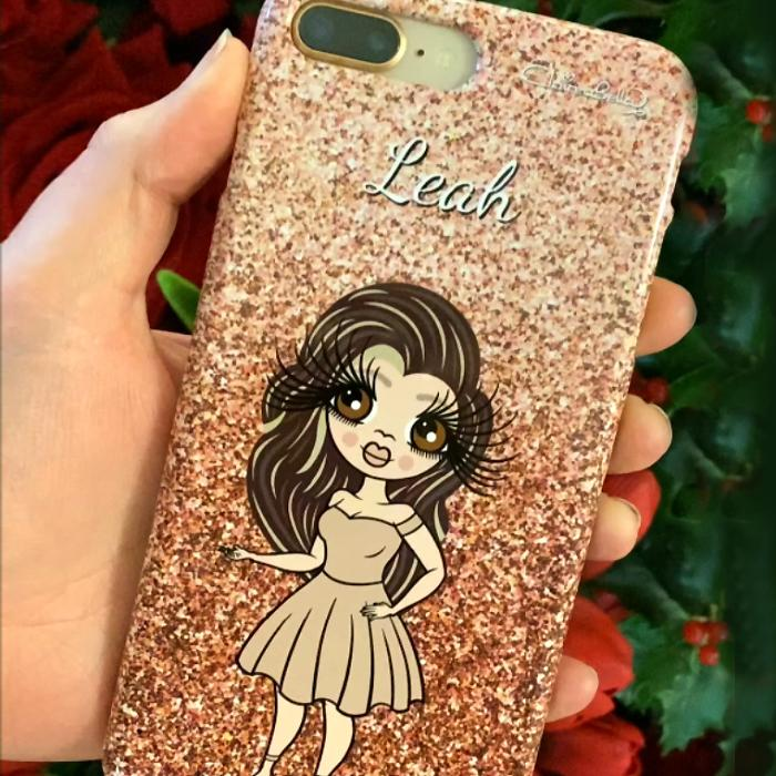 ClaireaBella Personalized Glitter Effect Phone Case - Image 9