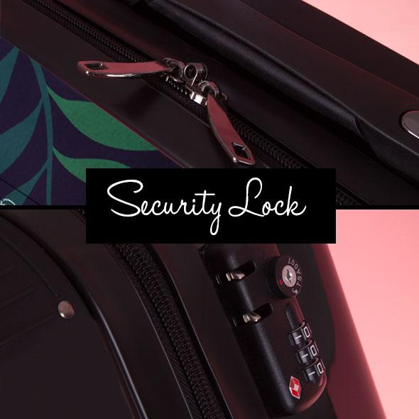ClaireaBella Tropical Suitcase - Image 8