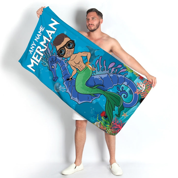 MrCB Merman Beach Towel - Image 4