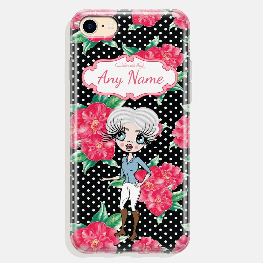 ClaireaBella Personalized Country Floral Phone Case - Image 0