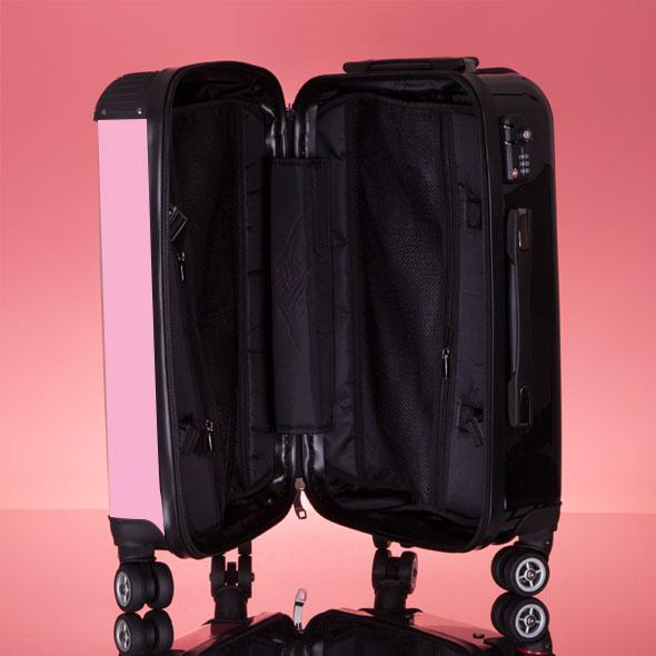 ClaireaBella Girls Pastel Pink Suitcase - Image 7