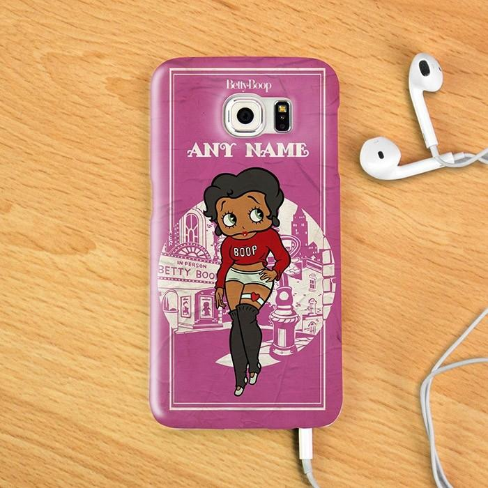 Betty Boop Home Town Phone Case - Image 1
