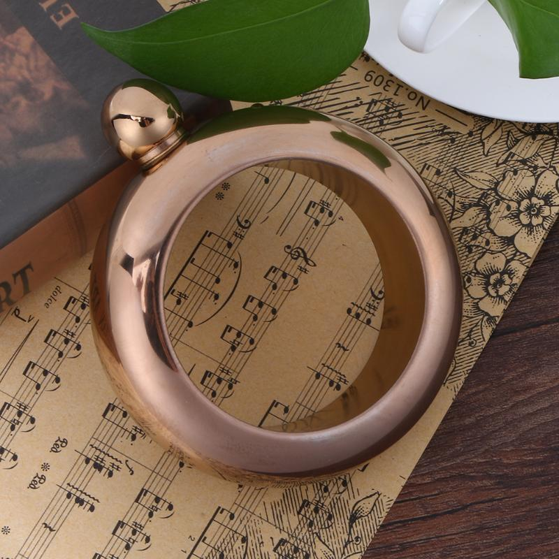 Portable Bangle Bracelet Hip Flask