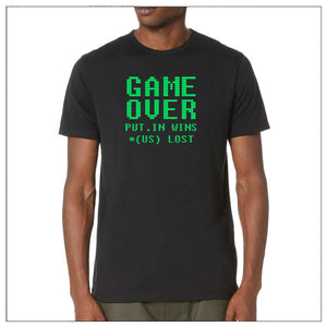 GAME OVER PUT.IN WIN *(us) lost ...