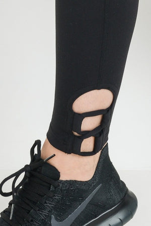 Black Detail Leggings