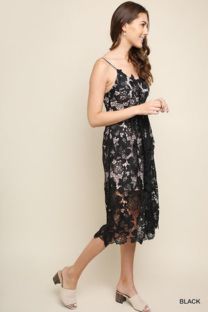 Black Beauty Overlay Dress