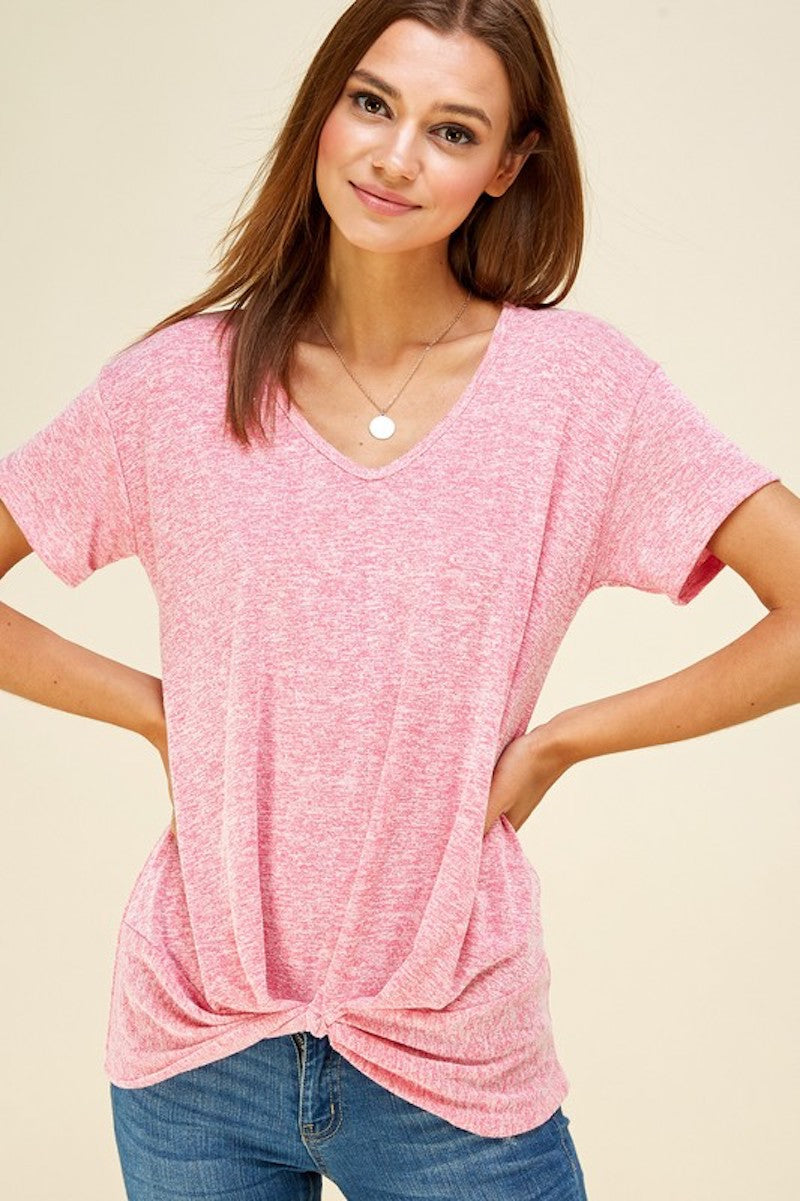 Heather's Pink Comfy Top