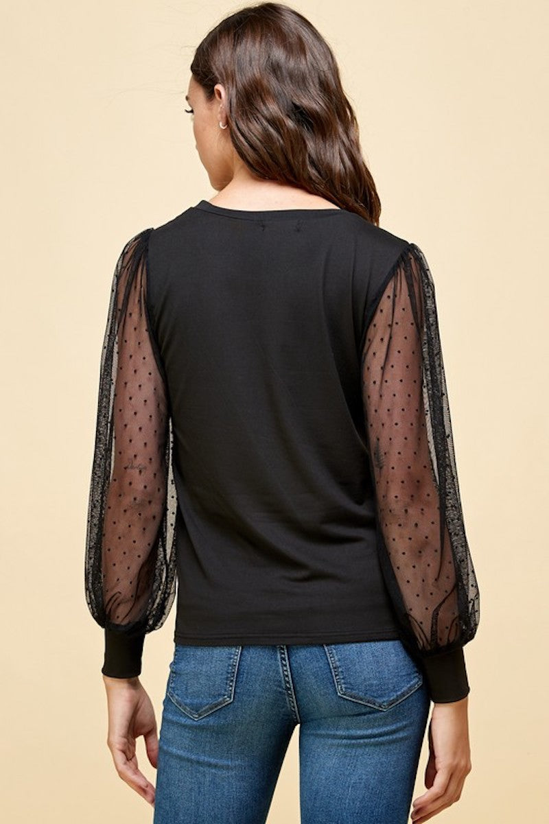 Black Obsessed Blouse