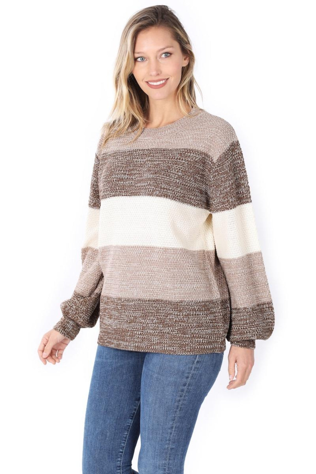 Not Your Average Stripe Sweater