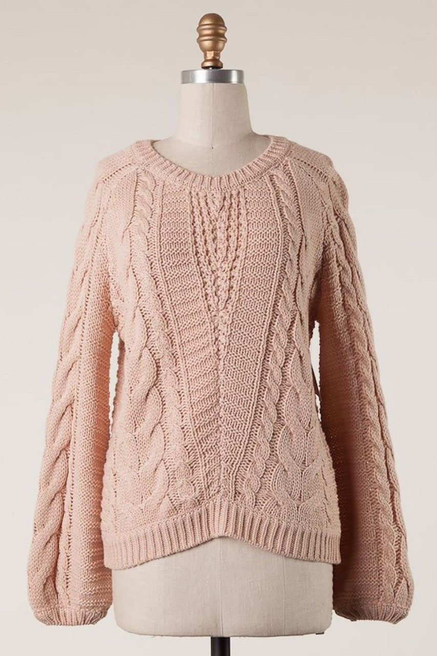Love Blush Sweater