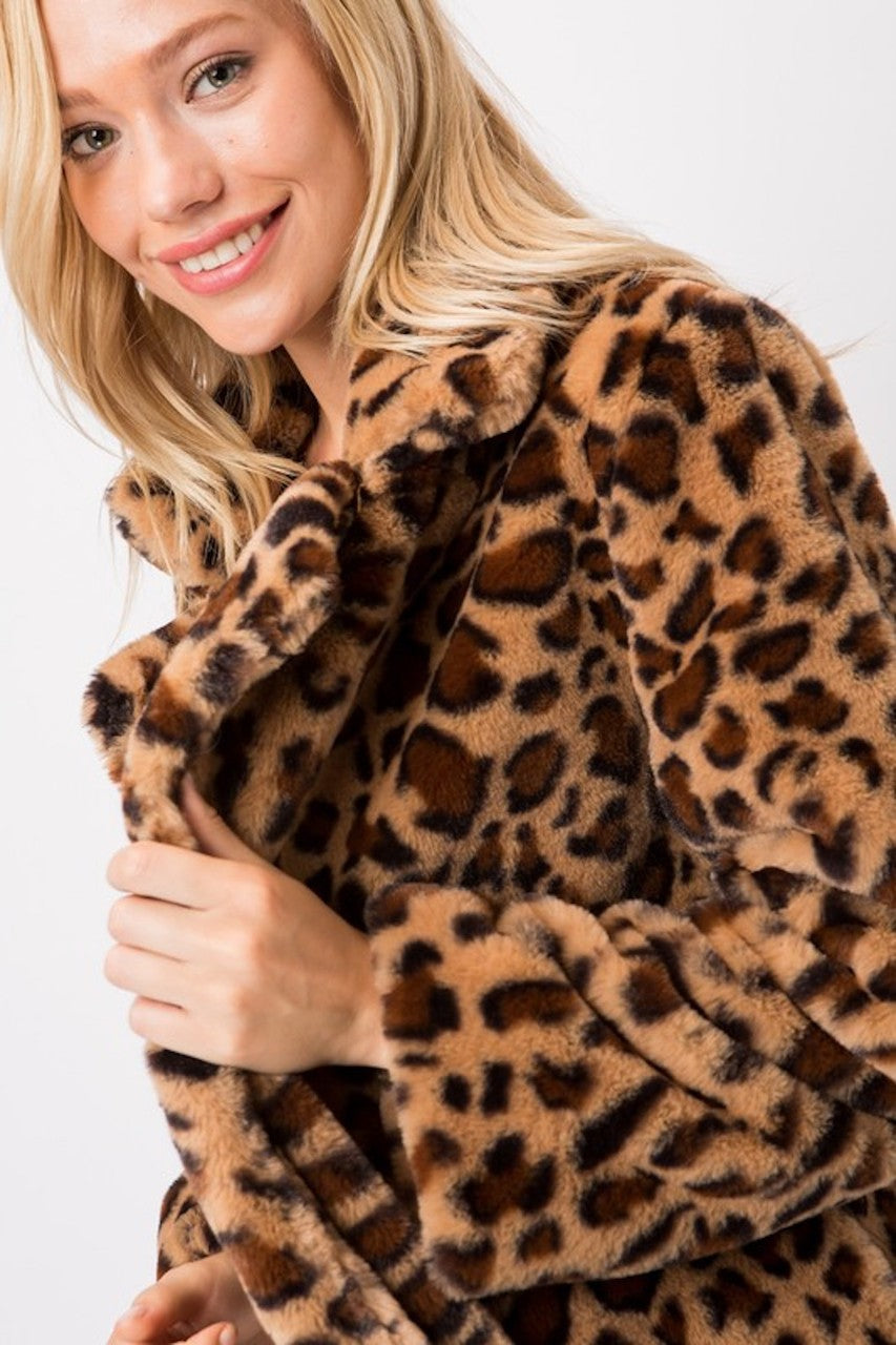 Purfect Leopard Fur Coat