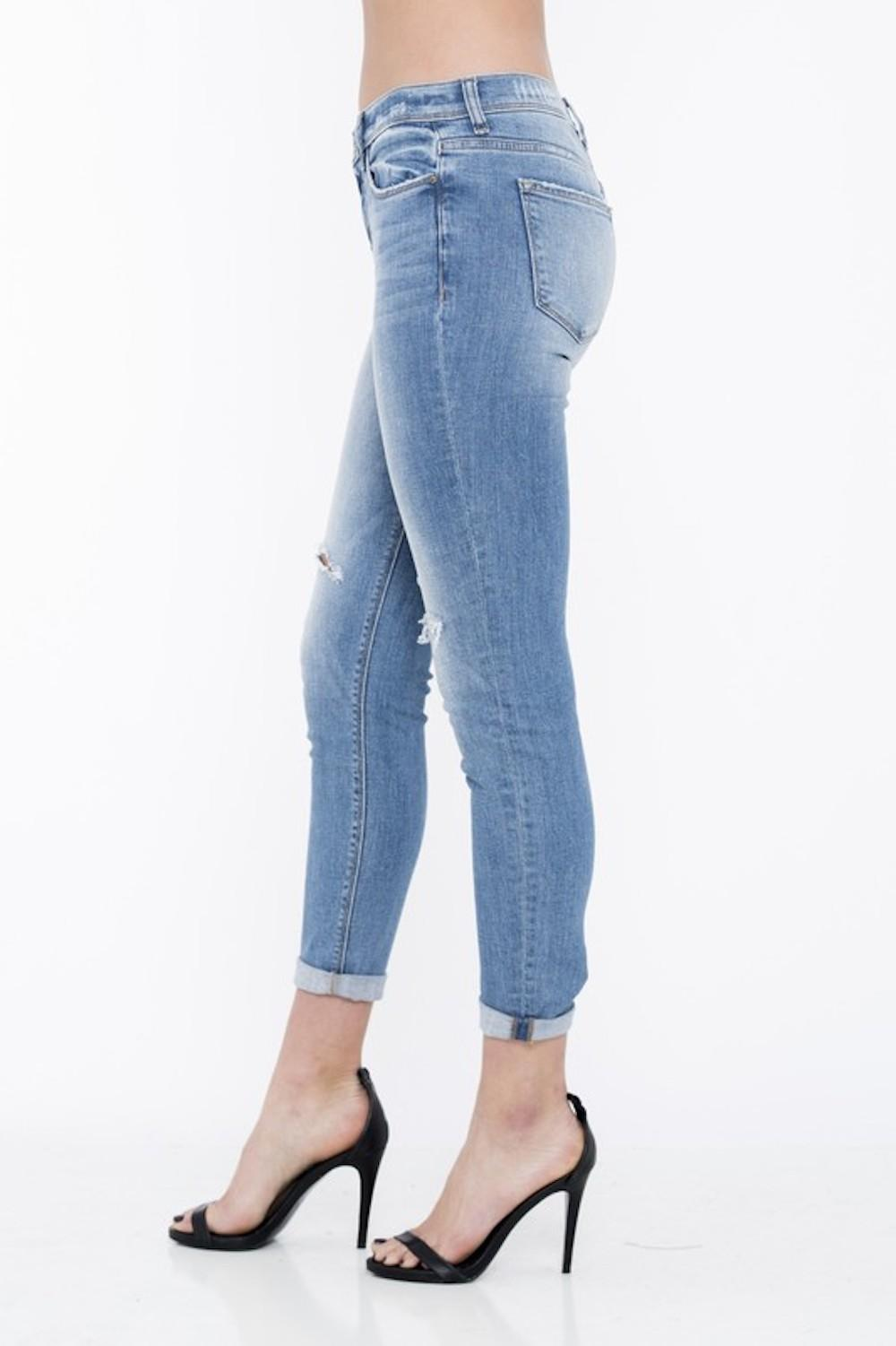 Comfy Tiny Distressed Jeans