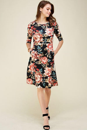Flora Pocket Dress