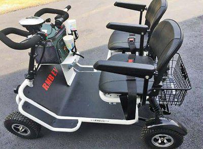 RMB E-Quad XL 4-Wheel Mobility Scooter - from DT Scooters - from DT Scooters