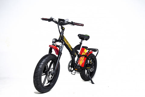 GreenBike Big Dog Off Road Electric Bike - from DT Scooters