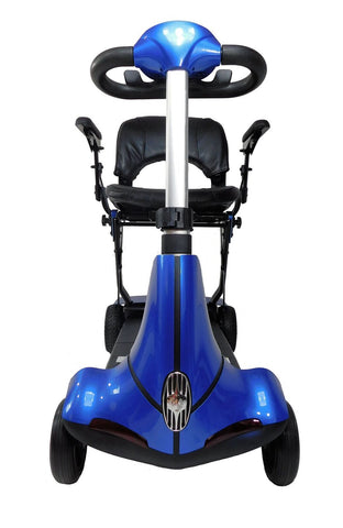 Solax Mobie Plus Folding 4-Wheel Mobility Scooter - from DT Scooters - from DT Scooters
