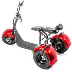 EWheels EW-21 Chopper Trike Fat Tire Scooter - from DT Scooters - from DT Scooters
