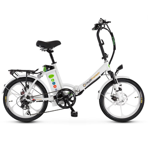 GreenBike City Premium HD Electric Bike - from DT Scooters - from DT Scooters