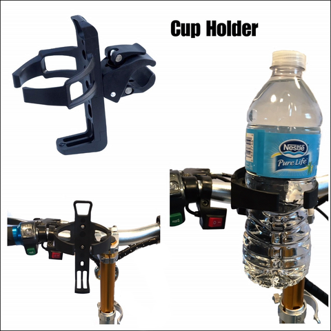 Enhance Mobility Scooter Cup Holder - from DT Scooters - from DT Scooters