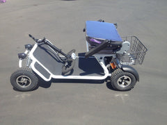 RMB E-Quad 4-Wheel Folding Mobility Scooter - from DT Scooters