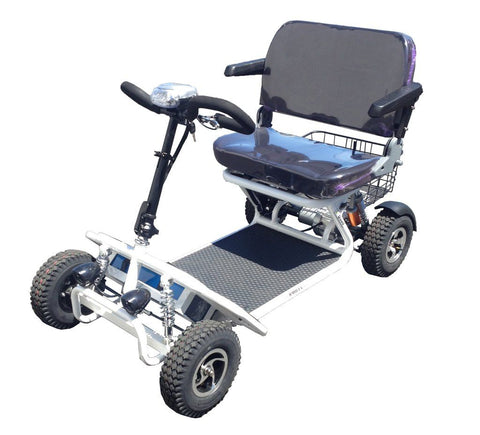 RMB E-Quad 4-Wheel Folding Mobility Scooter - from DT Scooters - from DT Scooters