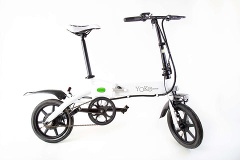 GreenBike Yoko Premium Electric Bike - from DT Scooters - from DT Scooters
